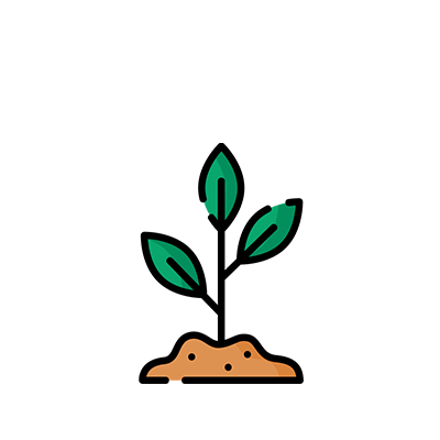 Icon - Plant seedling growing