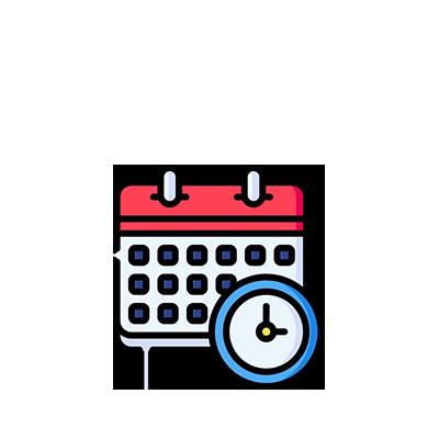 Icon - Calendar Schedule